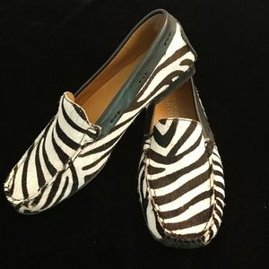 Franco Sarto Zebra print shoes